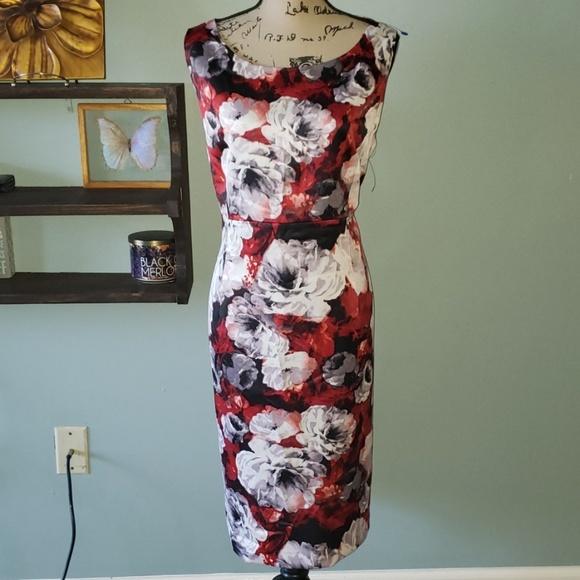 Kasper Dresses & Skirts - New KASPER Floral Sleeveless Sheath Dress